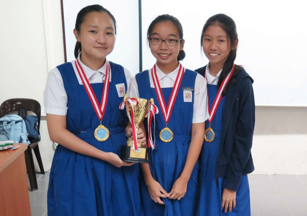 YEAR 14 AIR RACE RESULT - CHIJ St Nicholas Girls' School