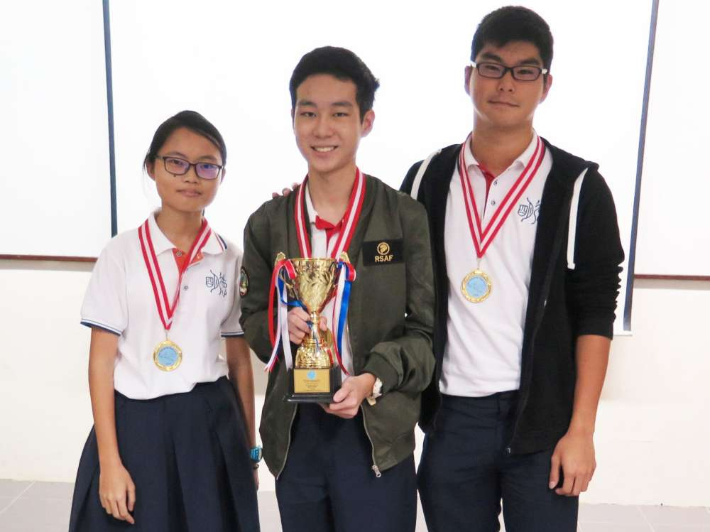 YEAR 14 AIR RACE RESULT - Dunman High School